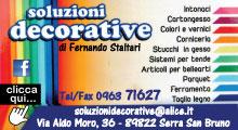 Soluzioni decorative di Fernando Staltari