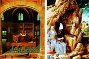 San Girolamo: dal lussuoso studio all'umida grotta, ma sempre con l'immancabile leone