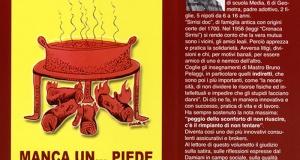 """Una breve recensione di Caterina Tagliani sul libro ?? """"Pinsati?? maca un piede, scritto dal serrese Giacinto Damiani."""