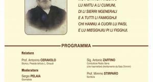 Domani Sabato 21, l'inaugurazione del monumento dedicato a Mastro Bruno Pelaggi.
