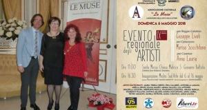 """""""Le muse"""" domenica 6 maggio IX evento regionale degli artisti  a Soveria Mannelli ed una collettiva d'arte fino al 16 c.m"""