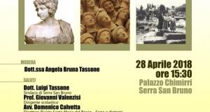Serra San Bruno: Tutto pronto per il convegno sulla Magna Graecia presso Palazzo Chimirri.