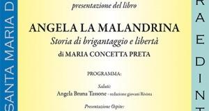 Serra San Bruno: Presentazione del libro Angela la malandrina.