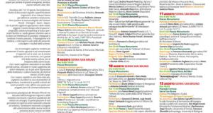 """La I edizione di """"Serre in Festival"""" - Idee e valori per un territorio solidale."""