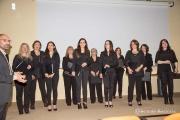 Il coro gregoriano Monserrato al museo della Certosa.